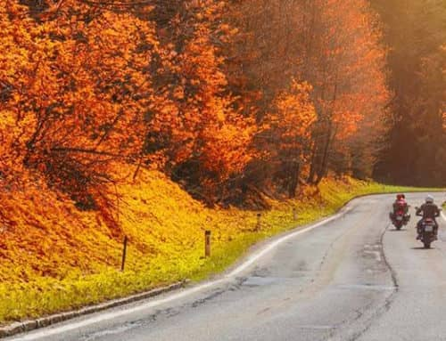 5 reasons why autumn is a great end for the motorcycle season